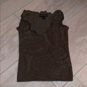Vintage Ralph Lauren Paisley Cashmere Top